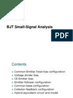 6. BJT Small Signal