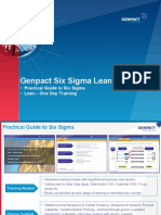 Genpact Leansixsigma Training Offering