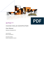 EP10 Hand-Held Computer User Manual