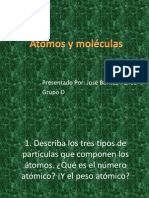 Atomos y Moleculas