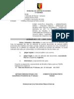 CONCURSO PÚBLICO DE PEDRA LAVRADA -ACÓRDÃO-TCE