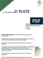 Folded Plates Ashween