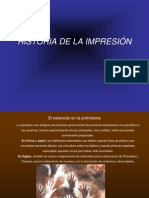 Historia de La Impresion