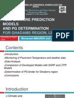 Temperature Prediction Models