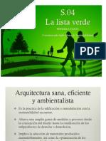 S.04 Lista Verde