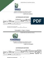 1 - Autorizacao de Passe
