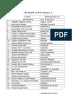 Daftar Nama Siswa (2)