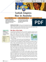 Ch 11 Sec 3 - Turkish Empires Rise in Anatolia