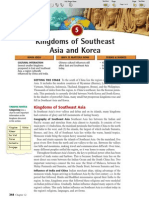 Ch 12 Sec 5 - Kingdoms of Southeast Asia and Korea