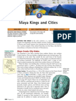 Ch 16 Sec 2 - Maya Kings and Cities