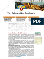Ch 17 Sec 4 - The Reformation Continues