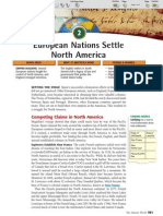 Ch 20 Sec 2 - European Nations Settle North America