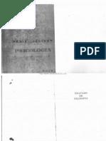 Tratado de Filosofia, Tomo II - Psicologia