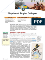 Ch 23 Sec 4 - Napoleon's Empire Collapses