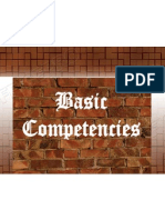 Basic Competencies