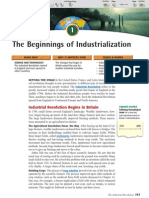Ch 25 Sec 1 - The Beginnings of Industrialization