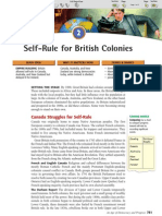 Ch 26 Sec 2 - Self-Rule for British Colonies