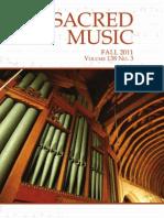 Sacred Music, Fall 2011