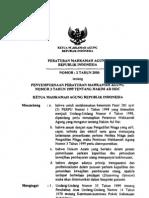 Per Ma No 2 Th 2000 Ttg Penyempurnaan Per Ma No 3 Tahun 1999 Tentang Hakim Ad Hoc