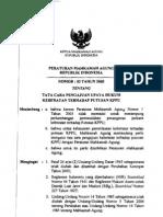 Per Ma No 03 Th 2005 Ttg Tata Cara Pengajuan Upaya Hukum Keberatan Terhadap Putusan Kppu