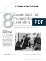 8 Esentials for Project Based Learning