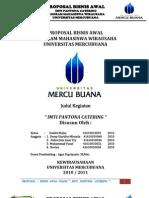 Contoh Proposal Bisnis Kewirausahaan Mahasiswa-Rudini,dkk Universitas Mercu Buana