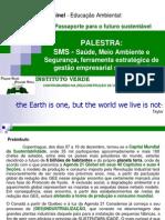 24418604 SMS Saude Meio Ambiente e Seguranca Ferramenta Estrategica de Gestao Empresarial Sustentavel