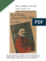 LEÓN TROTSKI Y ESPAÑA