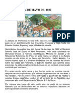 24 DE MAYO DE  1822