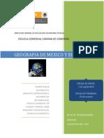 Plan de trabajo, Secuencia didáctica Geo 2012-2013