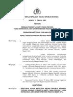 Peraturan Kapolri No 15 Th 2009 Ttg Pedoman Penerbitan Kartu Tanda Penyidik