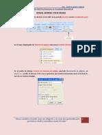 Manual de Usuario (Numero de Pagina y Pie de Pagina)