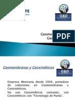 Geomembranas y Geosintéticos Presentación