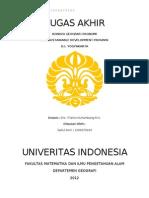 Kondisi Geografi Ekonomi Provinsi Daerah Istimewa Yogyakarta