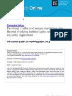 Hakim, Feminist Myths and Magic Medicine