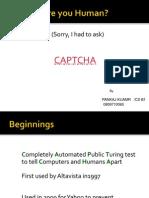 Captcha for Seminar