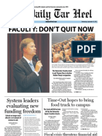 The Daily Tar Heel for September 19, 2012