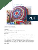 Granny Circle Cushion
