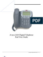 Avaya 2410 User Guide
