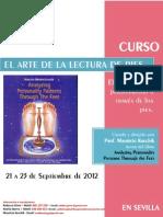 El Arte de La Lectura de Pies Programa Sevilla Sept 2012