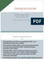 PERPINDAHAN KALOR