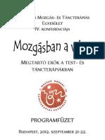 MMTEKonf 2012 Program