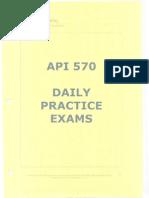 API 570 Daily Practice Exams