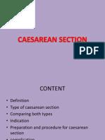 Caesarean Section