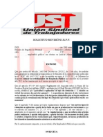 Solicitud Revision IRPF