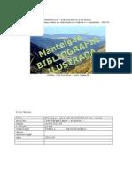 Manteigas - uma Bibliografia ilustrada (proposta)