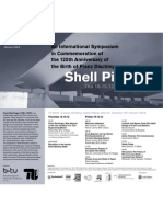 An International Symposium  in Commemoration of  the 125th Anniversary of  the Birth of Franz Dischinger - Shell Pioneers, Thu 18.10.12/Fri 19.10.12