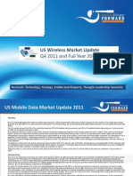 US Wireless Market Q4 2011 Update Mar 2012 Chetan Sharma Consulting