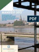 120211 Watererfgoed Manifest 2012
