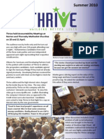 Thrive Newsletter 2010
